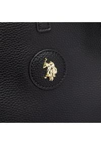 U.S. Polo Assn - Torebka U.S. POLO ASSN. - Malibu L Shopping BEUM15163WVG000 Black. Kolor: szary, wielokolorowy, czarny. Materiał: skórzane