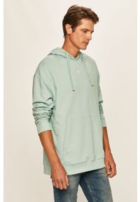 Morska bluza nierozpinana Only & Sons z nadrukiem, z kapturem