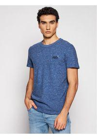 Superdry T-Shirt Ol Vintage Emb Tee M1010222A Granatowy Regular Fit. Kolor: niebieski. Styl: vintage