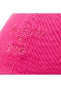 Superdry Czapka z daszkiem Baseball Cap W9010105A Różowy. Kolor: różowy #5