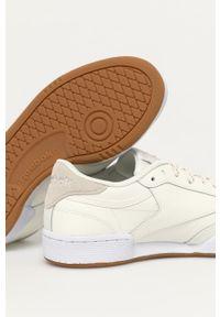 Sneakersy na sznurówki, z cholewką, z okrągłym noskiem, Reebok Classic