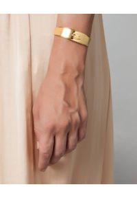 HERMINA ATHENS - Pozłacana bransoleta Kressida Vrahion. Materiał: pozłacane. Kolor: złoty