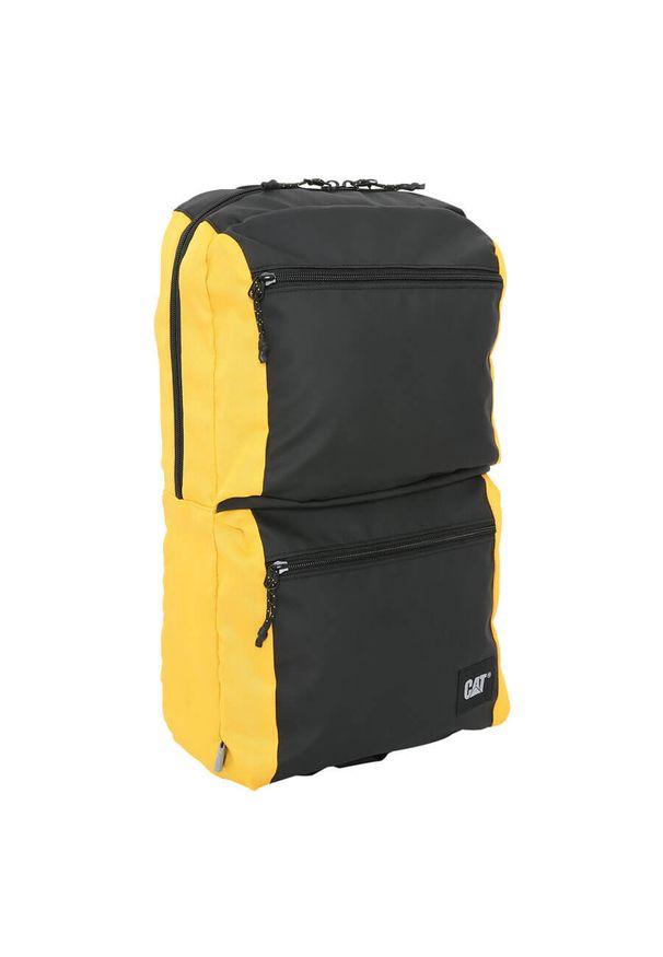 CATerpillar - Plecak męski Caterpillar Brooklyn 83829-12 zółty. Kolor: żółty. Materiał: materiał