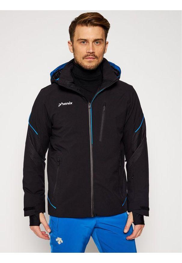 Phenix Kurtka narciarska Cutlass ESA72OT34 Czarny Regular Fit. Kolor: czarny. Sport: narciarstwo