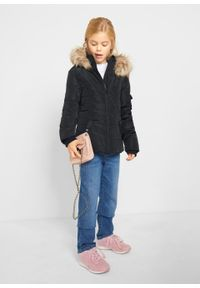 Czarny płaszcz bonprix na zimę