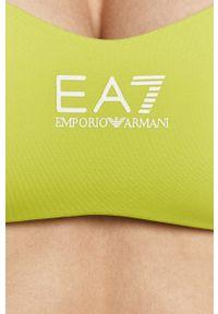 Strój kąpielowy dwuczęściowy EA7 Emporio Armani z fiszbinami