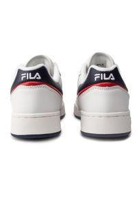 Białe buty sportowe Fila na co dzień, z cholewką