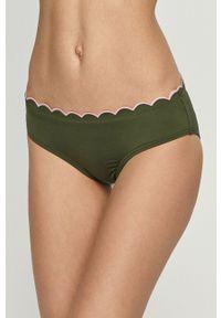 Kate Spade - Figi kąpielowe. Kolor: zielony