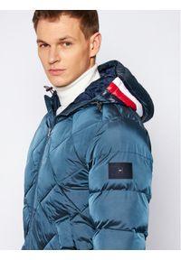 Niebieska kurtka puchowa TOMMY HILFIGER #6