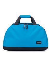 Niebieska torba podróżna Wittchen casualowa