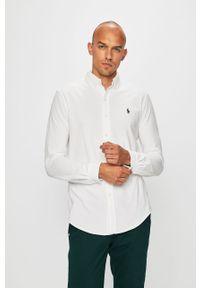 Biała koszula Polo Ralph Lauren długa, casualowa