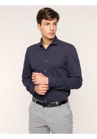 Baldessarini Koszula 41234/000/4983 Granatowy Regular Fit. Kolor: niebieski #5