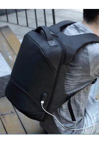 """NoName - Plecak Plecak na notebook 15,6"""", NB007, czarny, poliester / polietylen / nylon, z zabezpieczeniem antykradzieżowym. Kolor: czarny. Materiał: nylon, poliester"""
