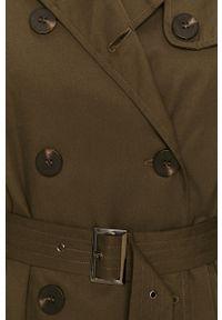Zielony płaszcz Vila casualowy, na co dzień, bez kaptura #7