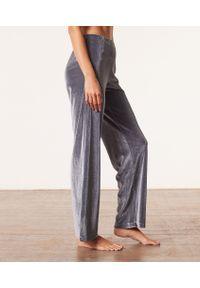Velvety Pantalon De Pyjama - L - Szary - Etam. Kolor: szary