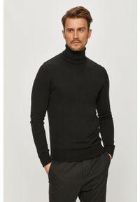 Czarny sweter Brave Soul na co dzień, długi