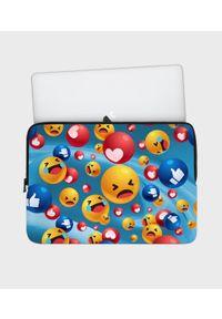 MegaKoszulki - Etui na laptopa 13 cali Emojis. Wzór: nadruk