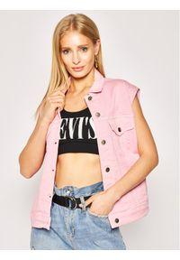 Różowa kamizelka Pepe Jeans