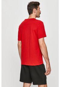 Czerwony t-shirt Tommy Sport sportowy, na co dzień