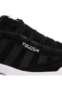 Czarne półbuty Togoshi na co dzień, casualowe, z cholewką #6
