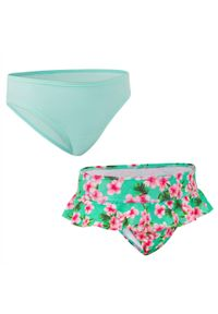 OLAIAN - Dół Kostiumu Kąpielowego Madi 100 Sakura Dla Dzieci. Materiał: poliester, materiał, elastan