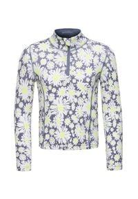 Bluza Poivre Blanc w kwiaty, z golfem