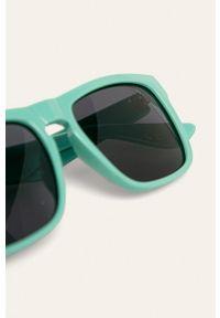 Miętowe okulary przeciwsłoneczne Vans prostokątne
