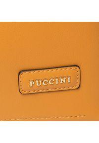 Żółta torebka klasyczna Puccini klasyczna