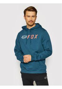 Fox Racing Bluza Apex Pullover Fleece 25954 Granatowy Regular Fit. Kolor: niebieski