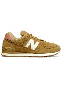 New Balance ML574XAA. Materiał: zamsz, skóra, materiał, syntetyk. Model: New Balance 574. Sport: turystyka piesza