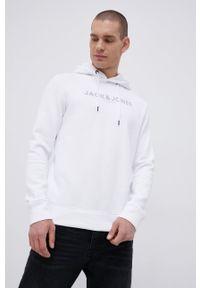 Premium by Jack&Jones - Bluza. Kolor: biały. Wzór: nadruk