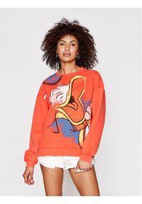 Pomarańczowa bluza Desigual z motywem z bajki