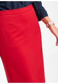 Spódnica ołówkowa bonprix czerwony. Kolor: czerwony