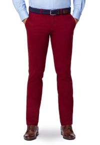 Czerwone spodnie Lancerto na lato, sportowe
