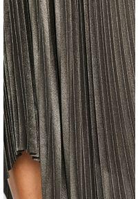Szara spódnica AllSaints na co dzień, casualowa
