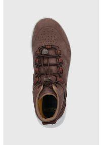 keen - Keen - Buty Highland. Zapięcie: sznurówki. Kolor: brązowy. Materiał: guma