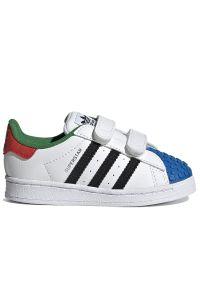 Adidas - adidas Superstar 360 X Lego > H03969. Zapięcie: rzepy. Materiał: syntetyk, guma, materiał. Szerokość cholewki: normalna. Model: Adidas Superstar