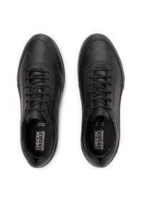 Geox Sneakersy U Adrien A U157VA 00085 C9999 Czarny. Kolor: czarny