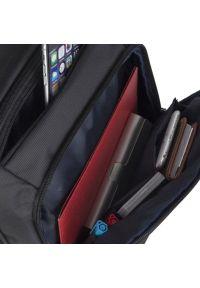 Czarny plecak na laptopa RIVACASE elegancki