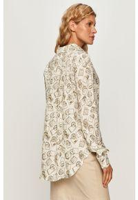 Wielokolorowa koszula Sportmax Code długa, z klasycznym kołnierzykiem