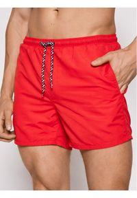Only & Sons - ONLY & SONS Szorty kąpielowe Ted 22019092 Czerwony Regular Fit. Kolor: czerwony