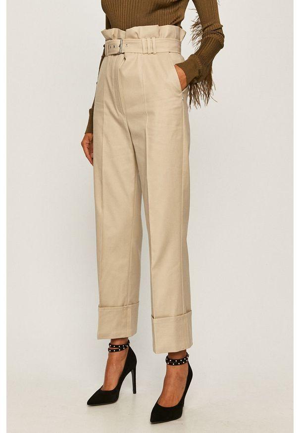 Szare spodnie materiałowe Sportmax Code