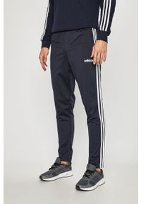 Niebieskie spodnie dresowe Adidas