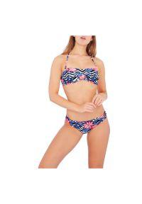 Strój kąpielowy bikini Firefly Alexandra 302277. Materiał: elastan, poliester, nylon. Wzór: gładki, nadruk