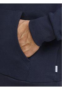 Jack & Jones - Jack&Jones Bluza Corp Logo 12152840 Granatowy Regular Fit. Kolor: niebieski