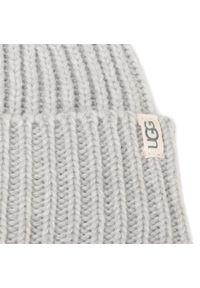 Szara czapka zimowa Ugg