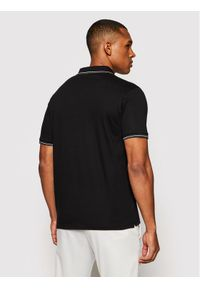 Baldessarini Polo B4 10011/5039/9000 Czarny Regular Fit. Typ kołnierza: polo. Kolor: czarny
