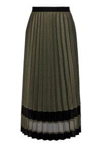 Zielona spódnica plisowana Laurèl