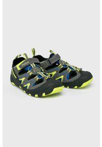 Kappa - Sandały dziecięce Reminder. Nosek buta: okrągły. Zapięcie: rzepy. Kolor: szary. Materiał: syntetyk, guma, materiał #3