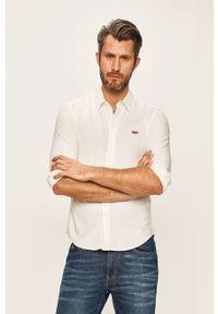 Biała koszula Levi's® na co dzień, klasyczna, z klasycznym kołnierzykiem